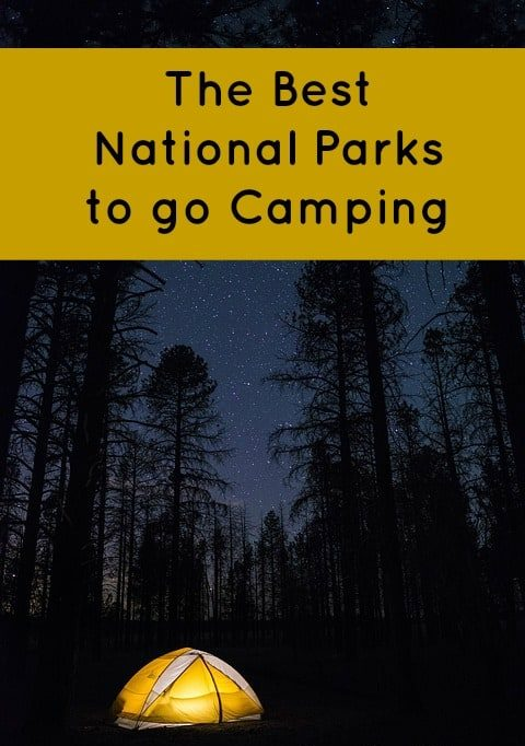 the best national parks to go camping cover