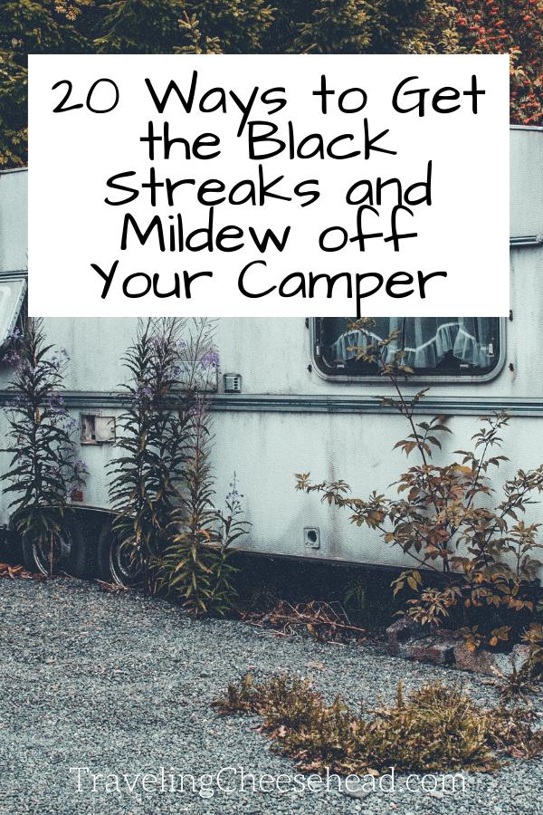mildew and black streaks