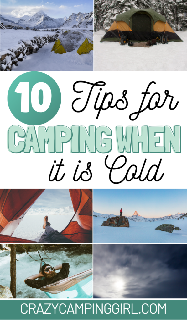 tips for camping in cold weather