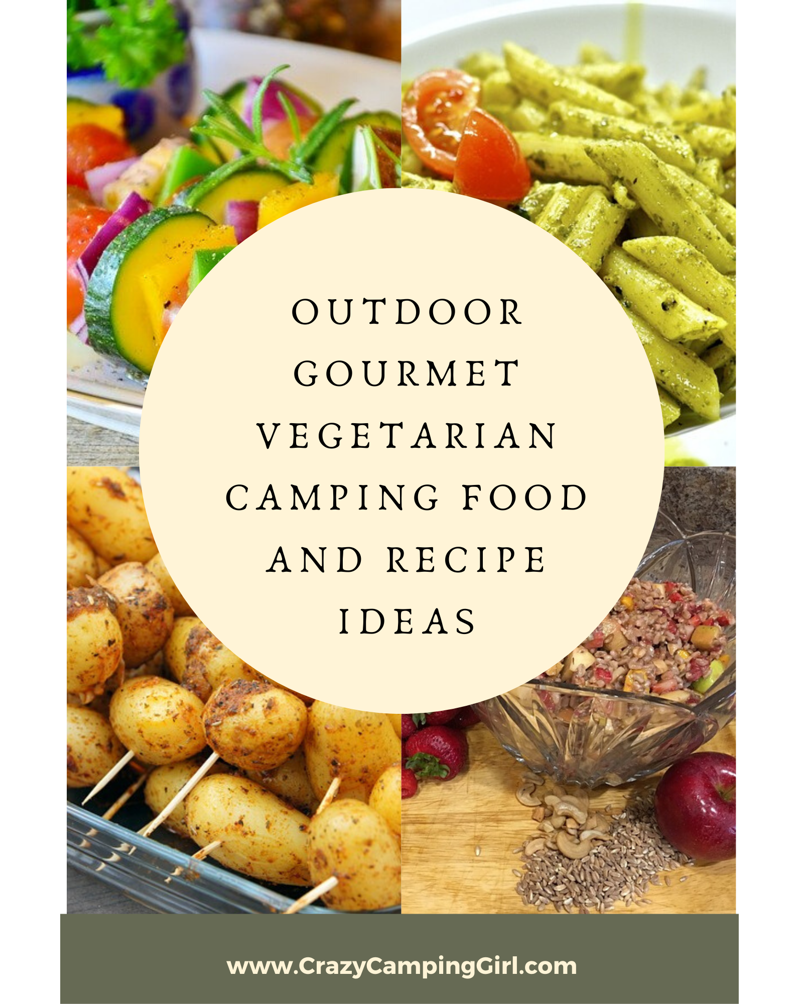Outdoor Gourmet Vegetarian Camping Food and Recipe Ideas