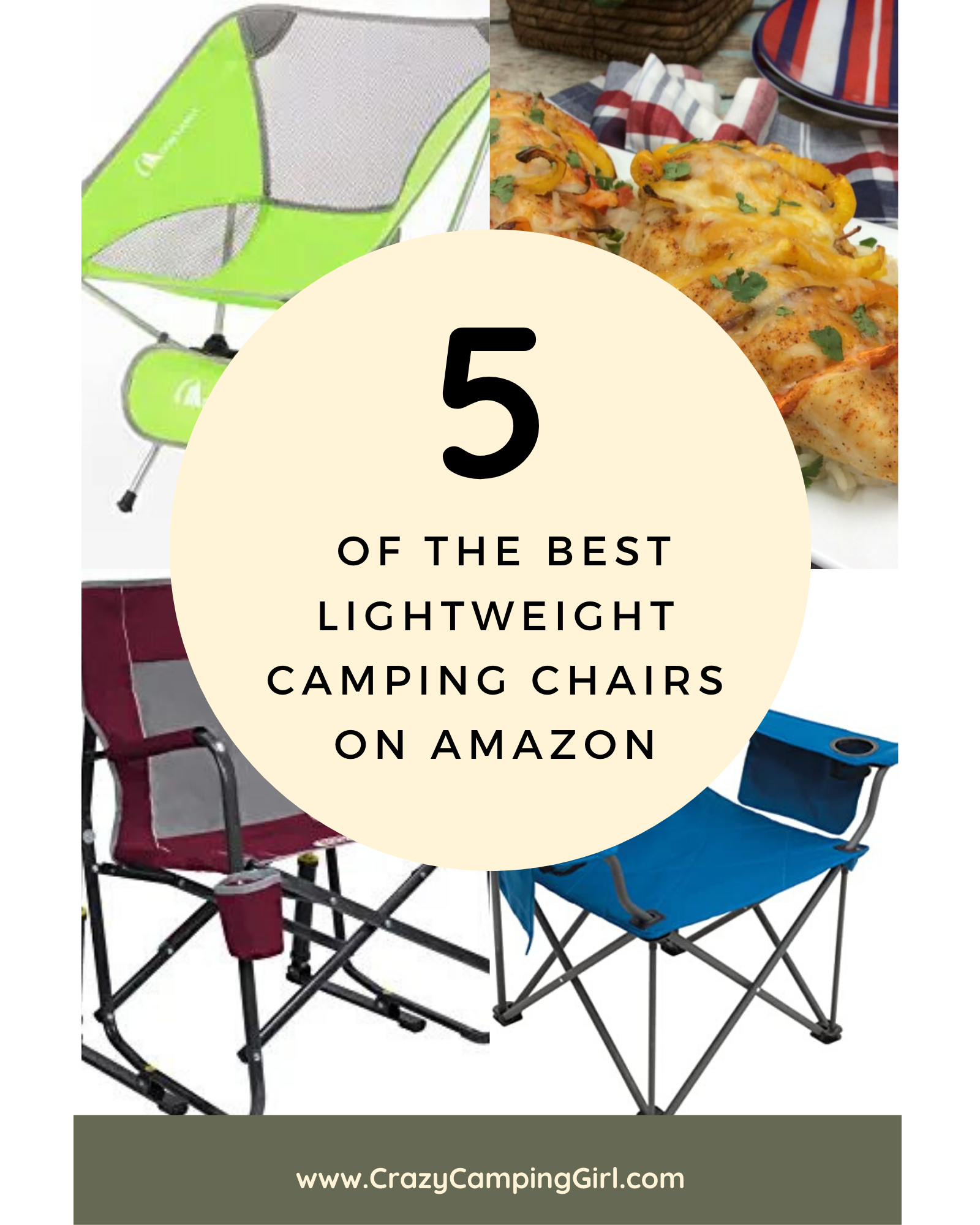 Best Lightweight Camping Chairs on Amazon
