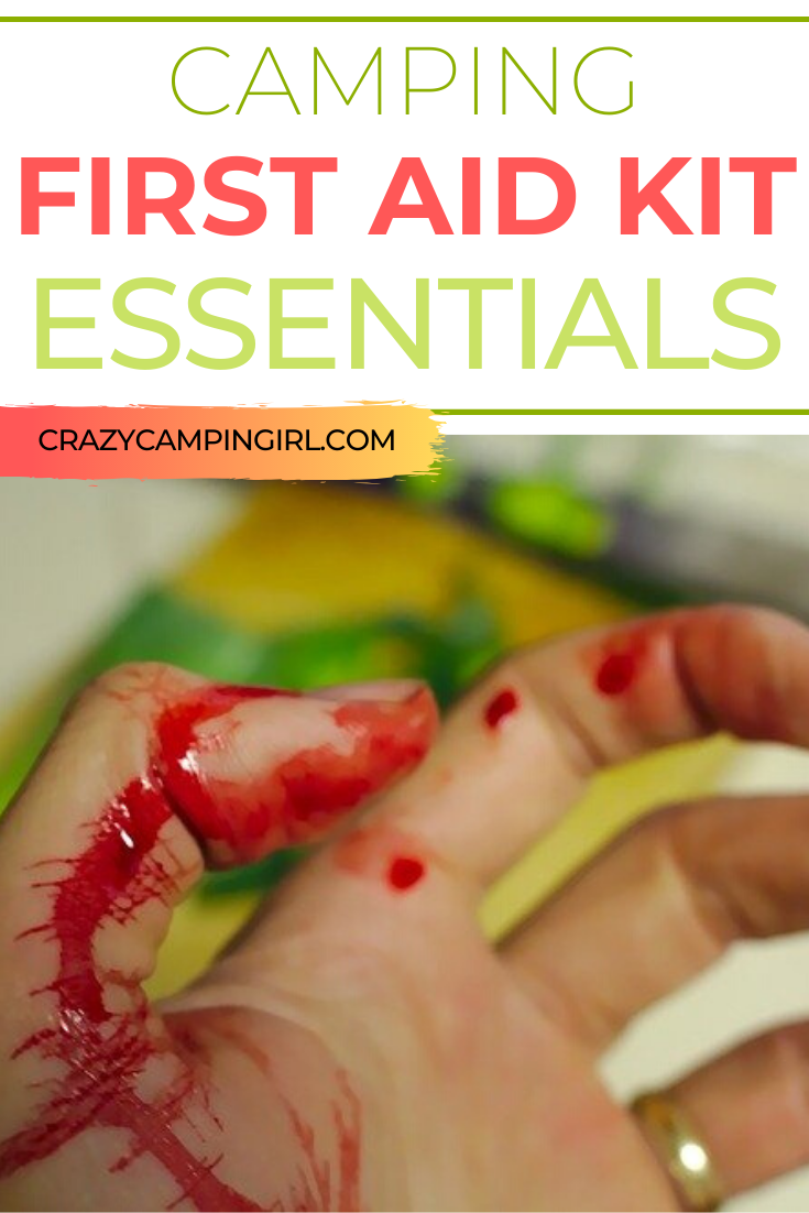 Camping First Aid Kit Essentials
