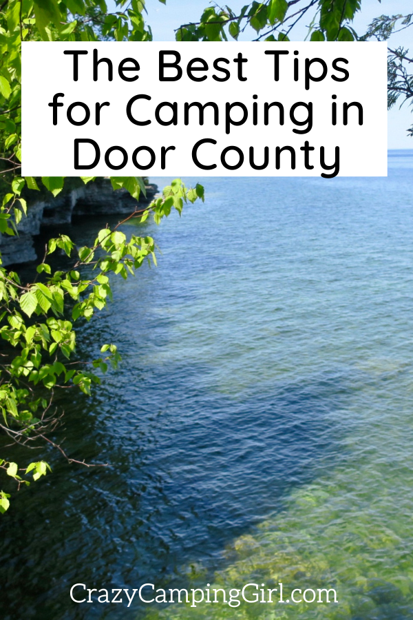 The Best Tips for Camping in Door County article featured image