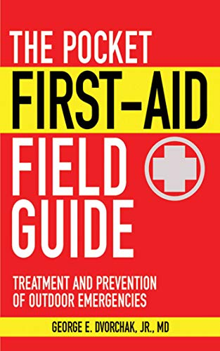 Camping First Aid Kit Essentials first aid field guide book