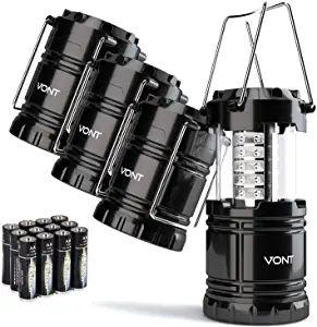 camping lanterns 4 pack