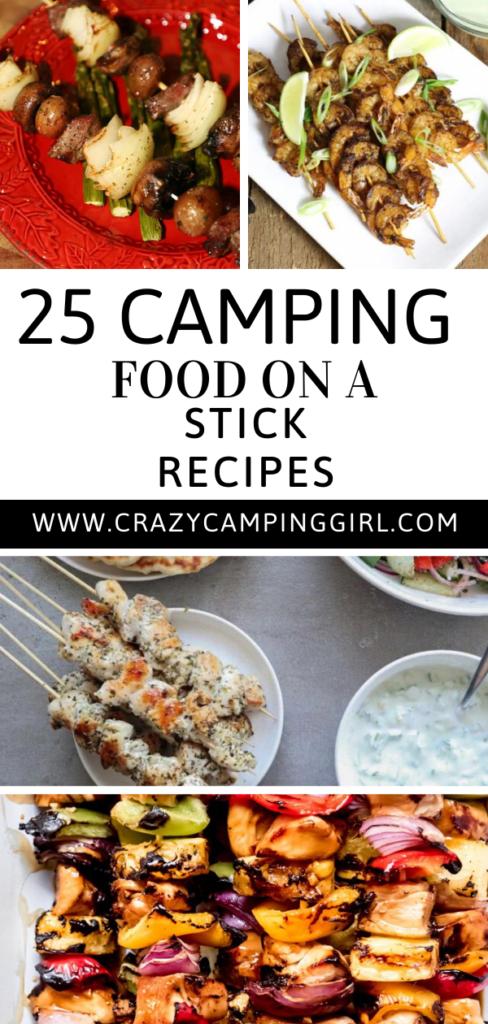 Camp Food on a Stick Recipes