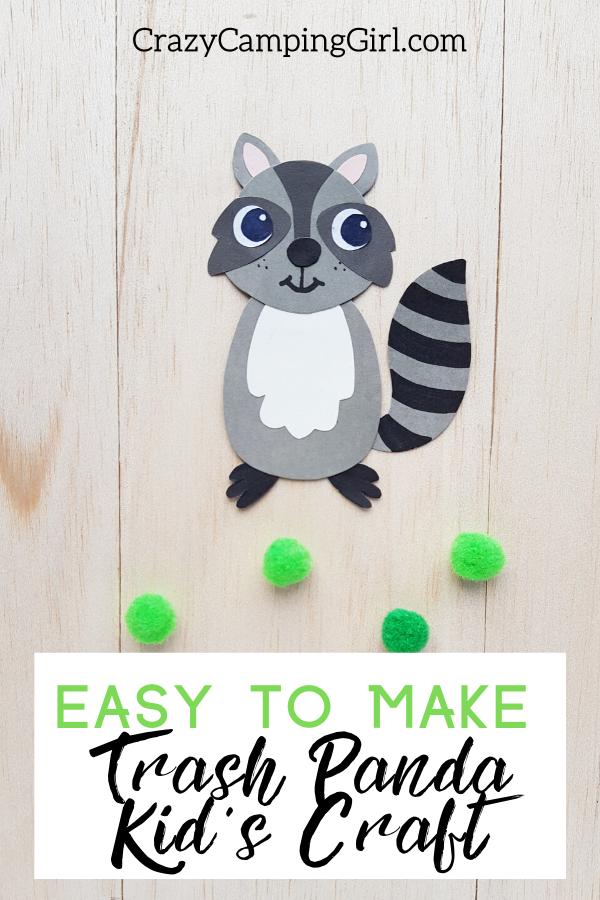 trash panda kid's craft article cover image