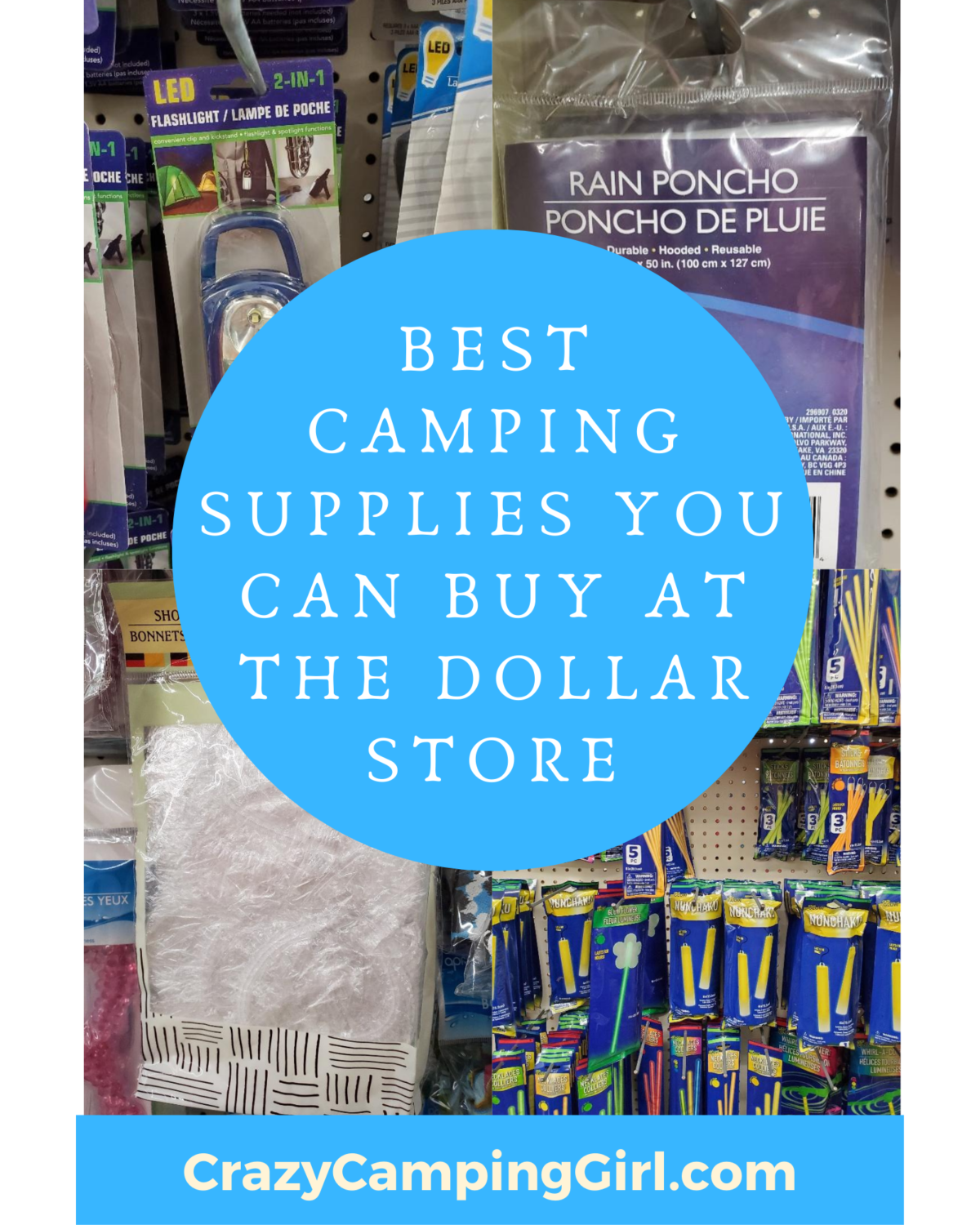 Dollar Tree Camping Supplies Complete A to Z List