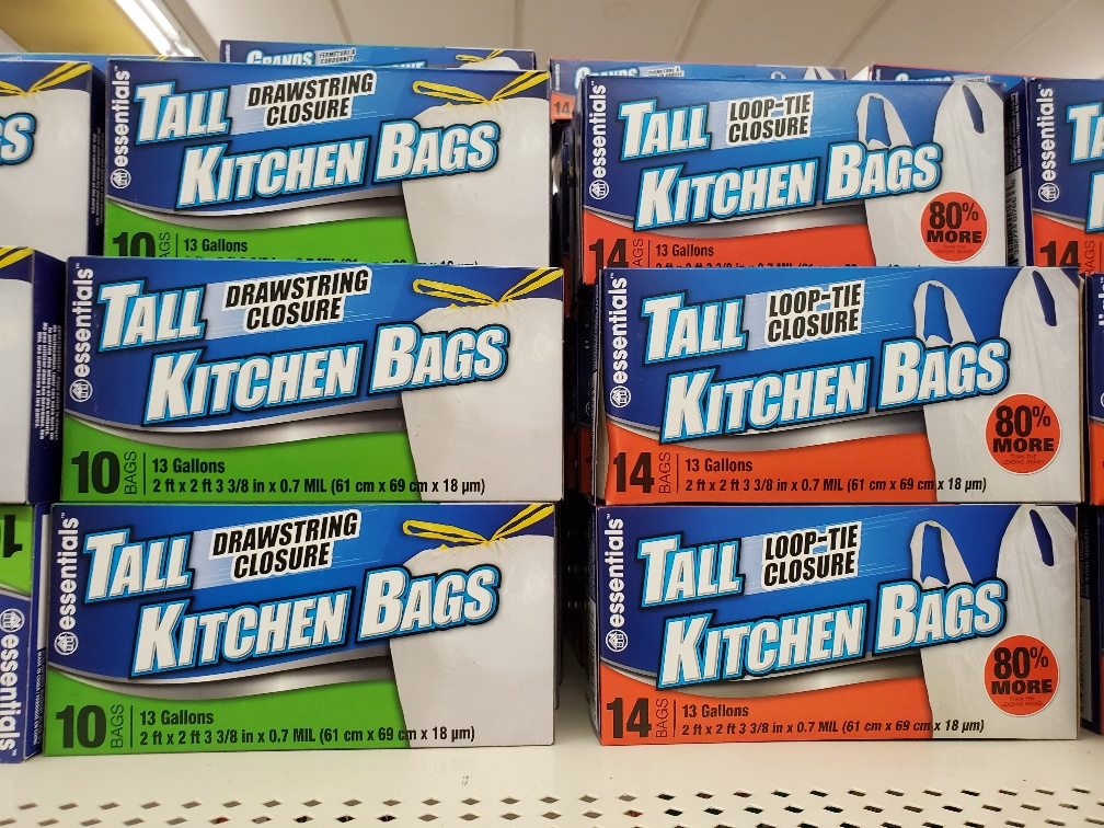 Dollar Tree Camping Supplies Complete A to Z List ziploc type bags