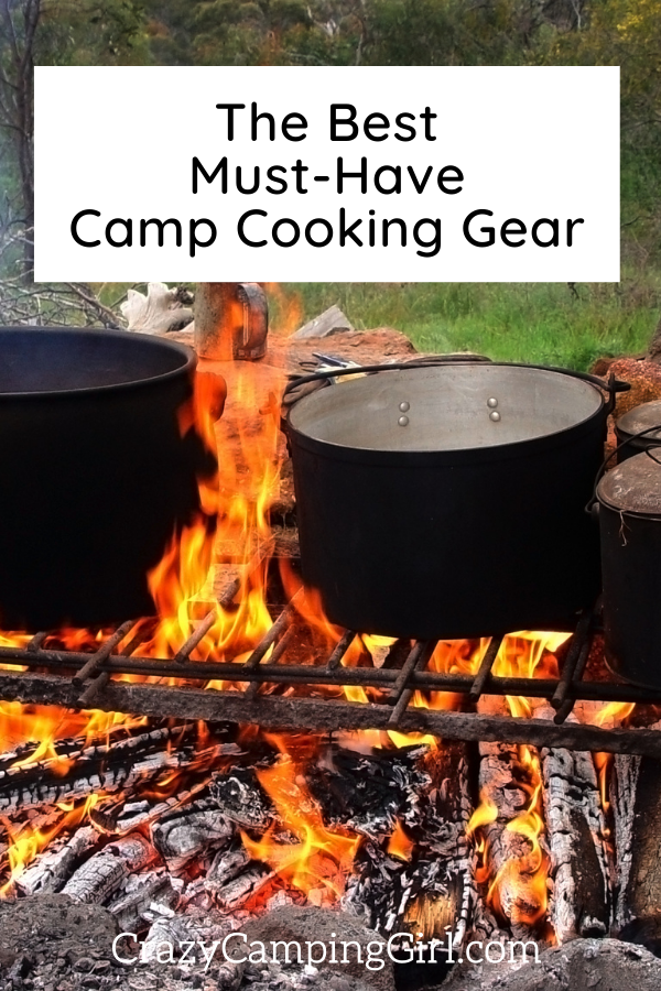 The Best Must-Have Camp Cooking Gear: Utensils and Kitchen Aids