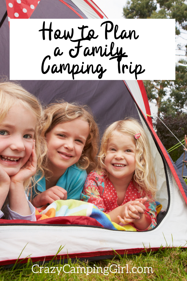 How to Plan a Family Camping Trip article cover image