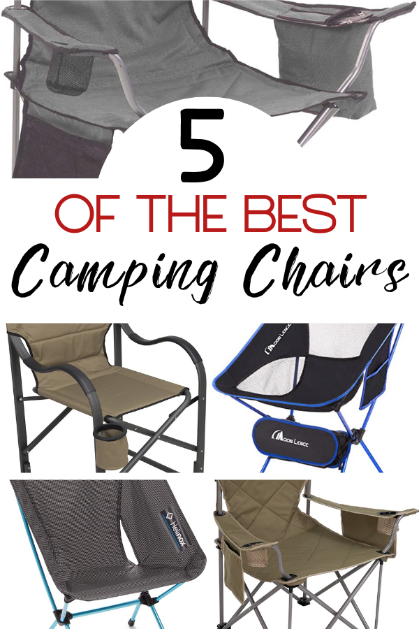 The 5 Best Chairs for Camping Adventures