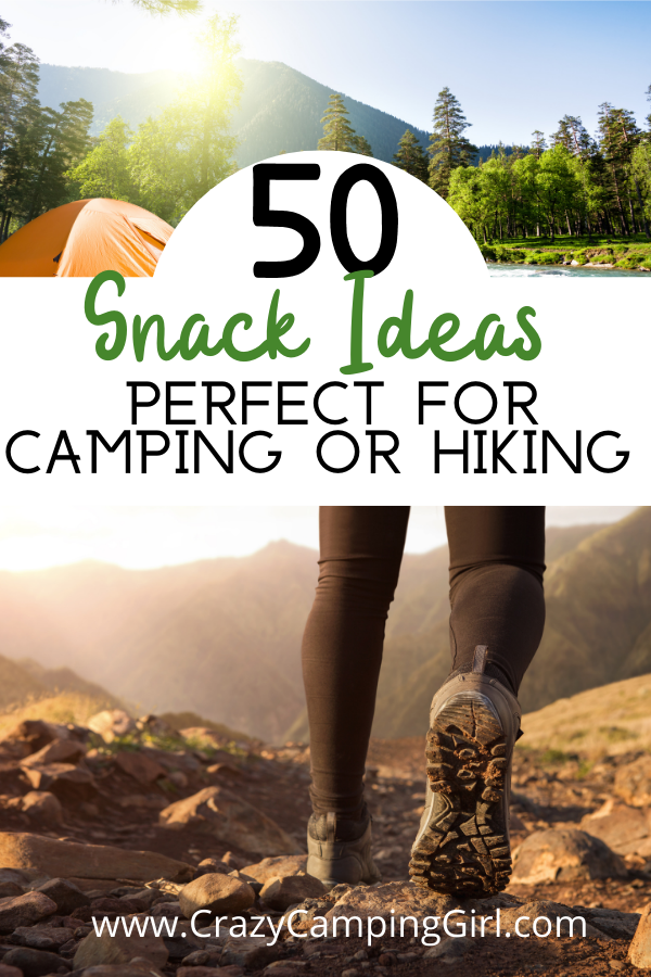 Snack Ideas Perfect for Camping or Hiking