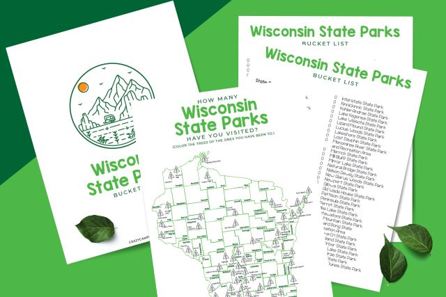 Wisconsin State Park Free Printable