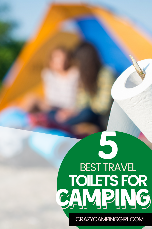 Check out these travel toilets for camping
