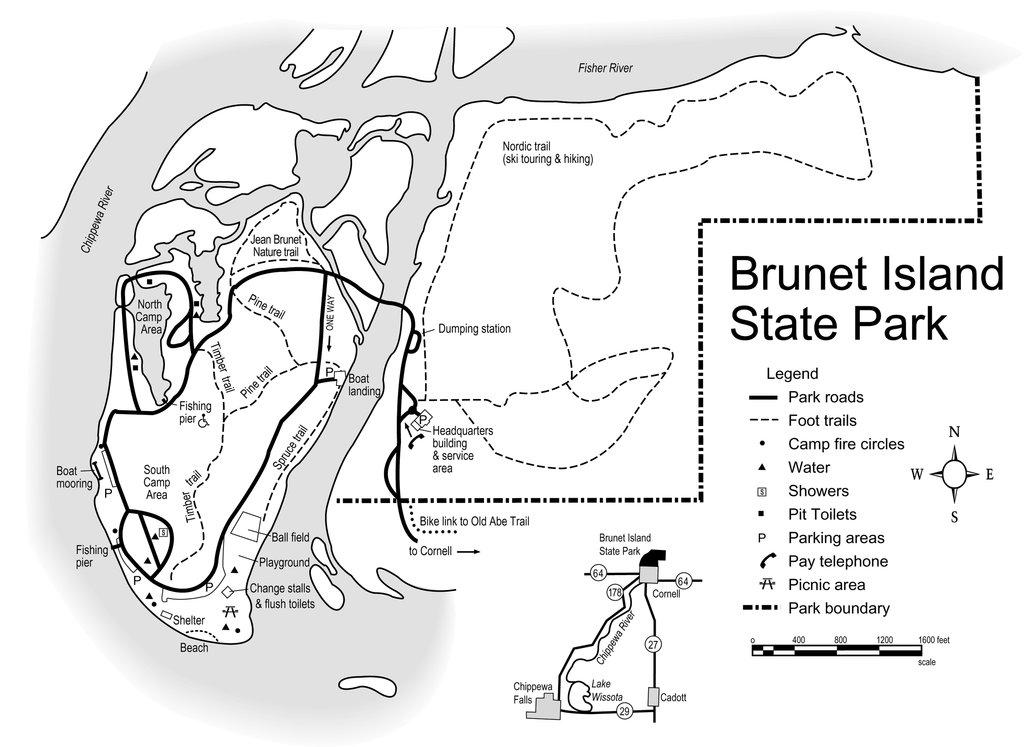 Biking at Brunet Island Bay State Park