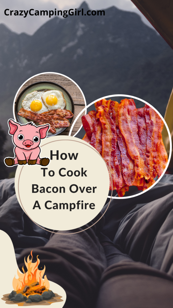Learn How to Cook Bacon over Campfire