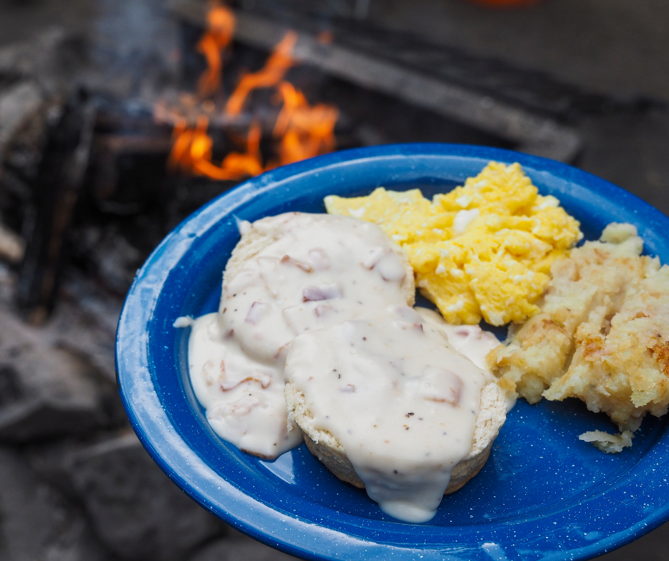 Campfire Biscuit Meal Ideas