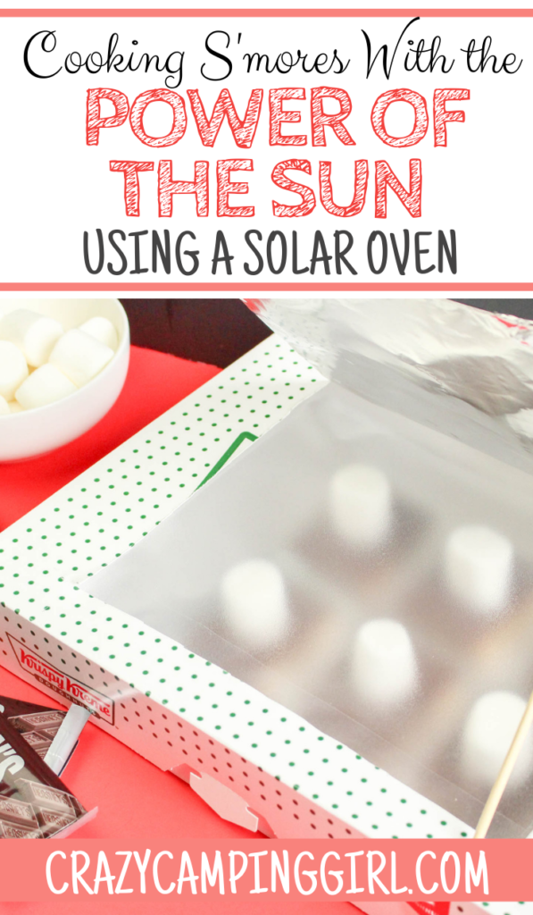 Cooking S'mores With the Power of the Sun Using a Solar Oven