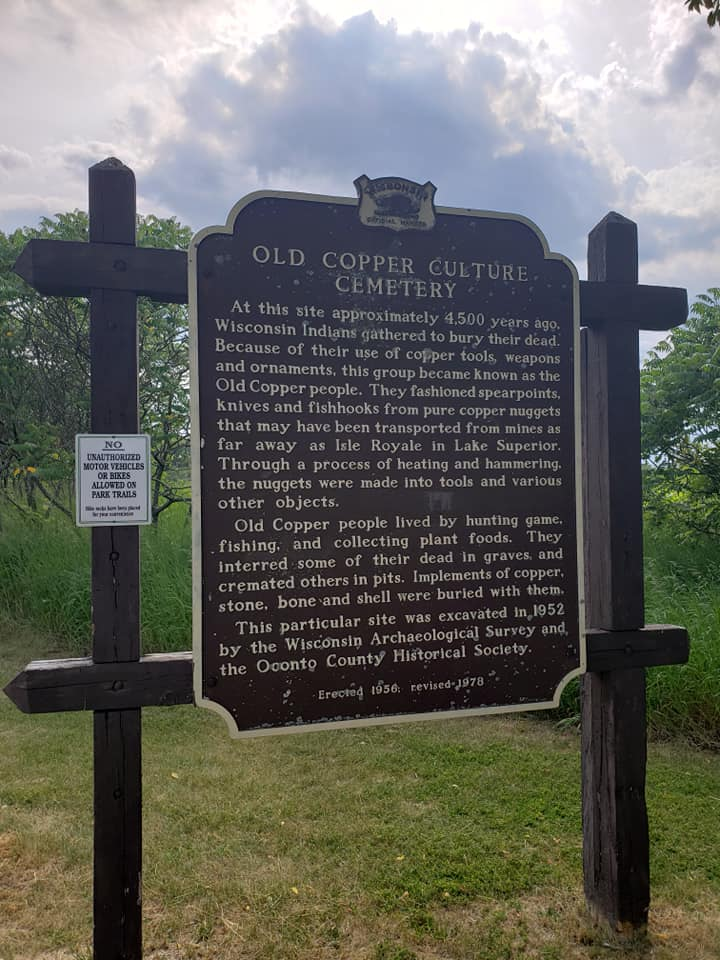 ow the Copper Culture Mounds were formed